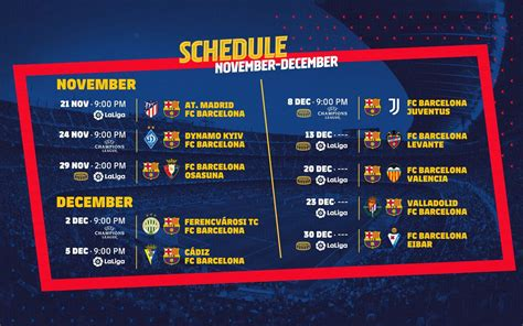 A hectic fixture list to round off the year