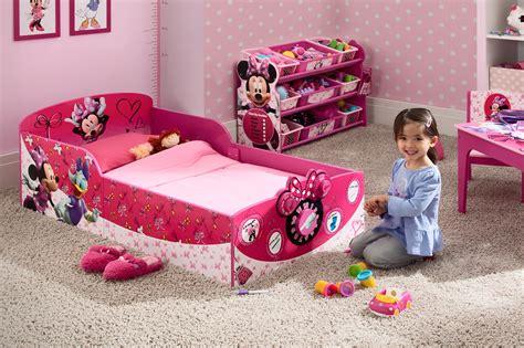 delta minnie mouse toddler bed delta children minnie mouse interactive wood toddler bed