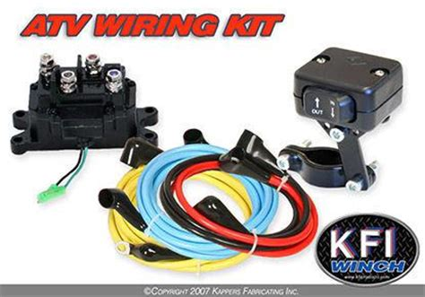Purchase Kfi Winch Universal Atv Wiring Kit With