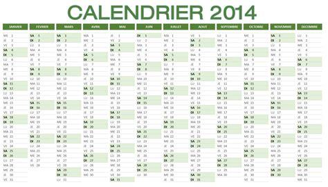 look pour le bureau calendrier 2014 à imprimer et télécharger