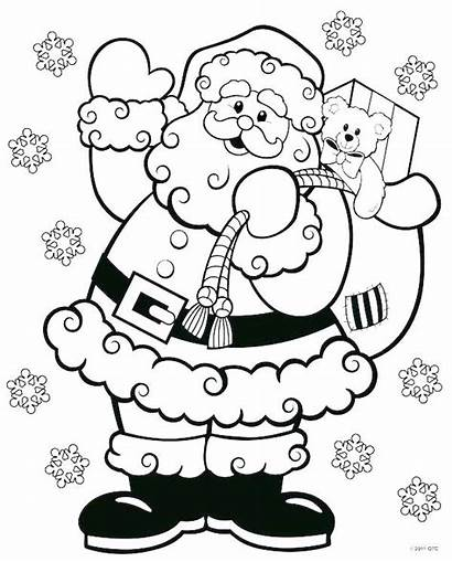 Coloring Pages Crayola Christmas Xmas Printable Getcolorings