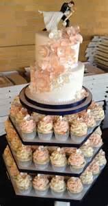 wedding cake and cupcakes cupcake wedding cakes 22 stylish