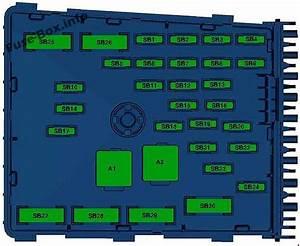 Fuse Box Diagram Volkswagen Passat B7  2011