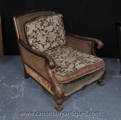 Chair Settee by Antique Bergere Sofa Arm Chair Suite Chairs