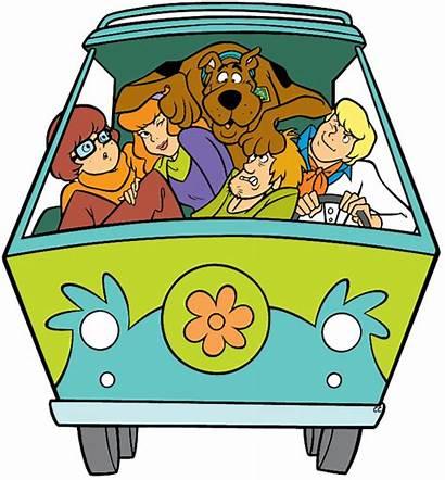 Doo Scooby Clipart Clip Shaggy Cartoon Transparent
