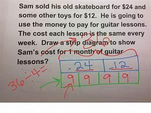 Strip Diagram Third Grade