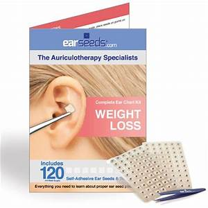 Ear Seed Chart Weight Loss Ear Seed Kit