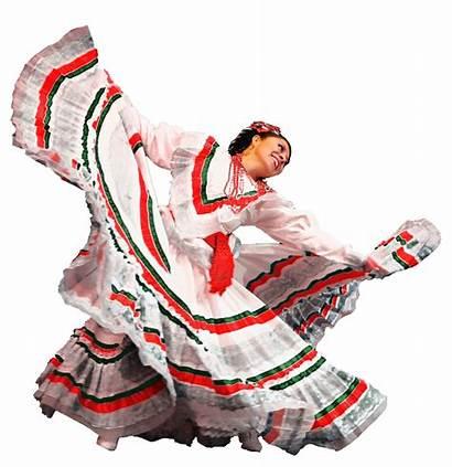 Dancer Mexican Clipart Ballet Mariachi Folklorico Dancers