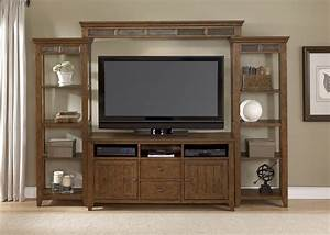 Craftsman Entertainment Center Wood Furniture TV Stands