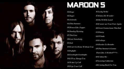 maroon 5 hits maroon 5 greatest hits full album cover 2017 youtube