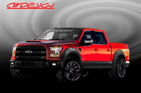 Seven Modified 2016 Ford F150 Pickups Coming To Sema