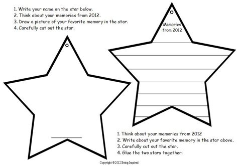 Perfect Star Template For Writing Pattern Resume Ideas