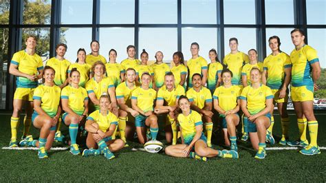 australian rugby sevens teams named  gold coast  commonwealth games australia