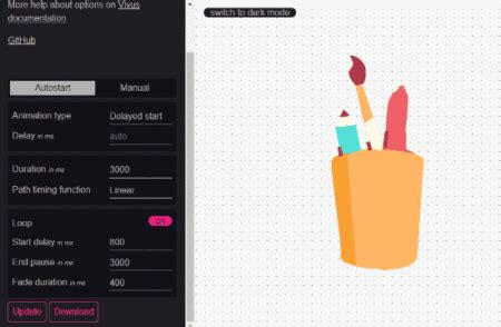 Animating elements with svg.js is simple. 4 Online SVG Animator Websites Free