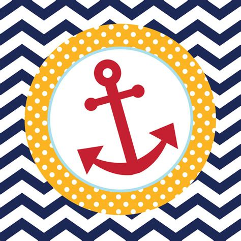 ahoy matey nautical anchor luncheon napkins theme party