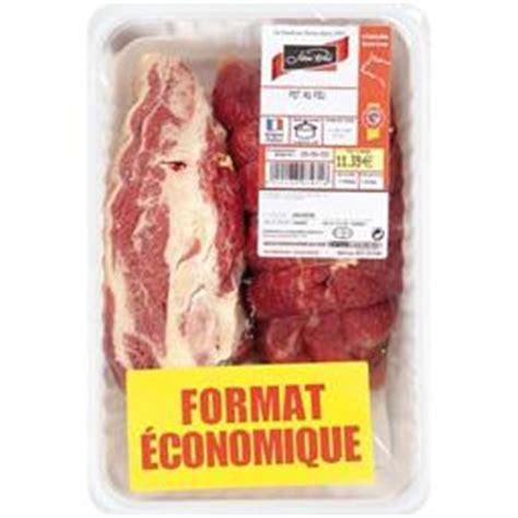 viandes pour pot au feu jean roze viande pour pot au feu la barquette d environ 1 4kg tous les produits boucherie