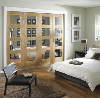Living Room Doors At B Q by B Q 4 Door Room Divider 4 Light Glazed Oak 244cm W