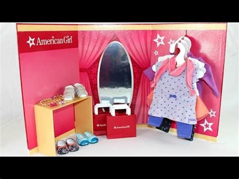 american girl doll ag store playset review youtube