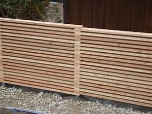Holzlatten Für Zaun : ungeahnte vielfalt an sicht und l rmschutz varianten ~ Orissabook.com Haus und Dekorationen