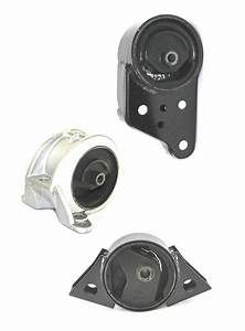 Engine And Transmission Mounts 3pc Kit Fits 1991