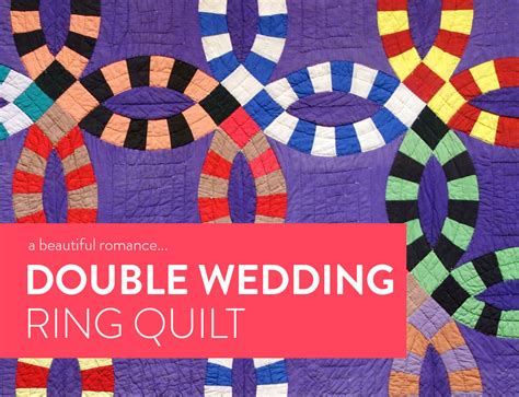 how to make a wedding ring quilt a beautiful the wedding ring quilt suzy