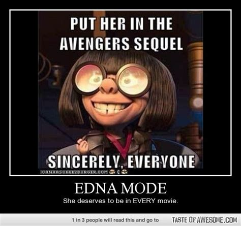 Edna Meme - edna mode i love these to the moon and back