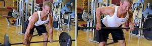 Standing Barbell Bent Over Row - Second Chance Fitness