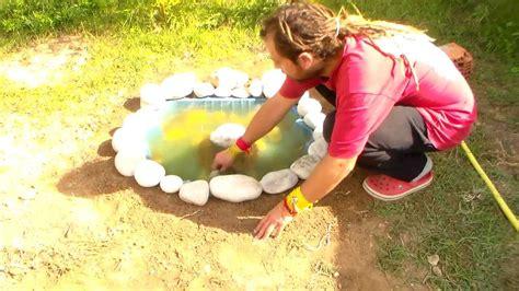 Estanque Casero Para El Jardin Capitulo 5 Youtube