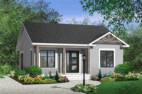 Cottage Style House Plan 2 Beds 1 00 Baths 835 Sq/Ft