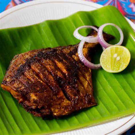 pomfret fish fry vavval meen varuval recipe spicy meen