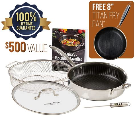 copper chef titan pan  jet tila    tv cookware