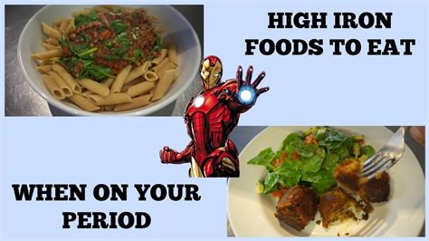 High Iron Vegan Meals│iron Deficiency, Foods To Eat On