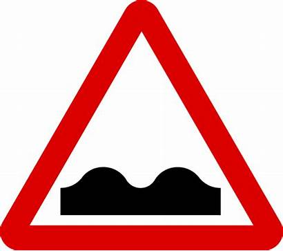 Road Uneven Sign Signs Svg Mauritius Warning