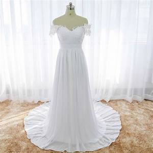 white beach wedding dress off the shoulder cheap indian With boho wedding dress cheap