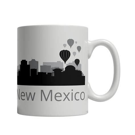See how much you know about the history of albuquerque if you are craving some hometown trivia. Albuquerque, NM Skyline Coffee Mug | Custom Gifts Etc.