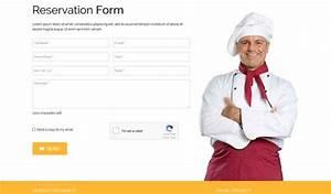 Restaurant Food Order Form Template It Restaurant 3 Joomla Bistro E Commerce Template