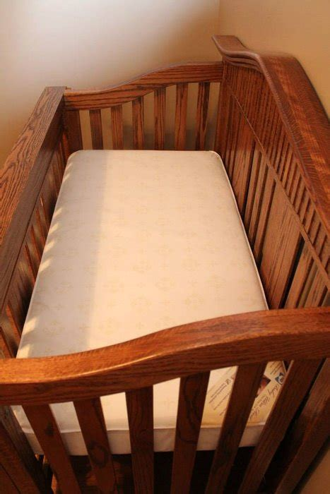 oak baby crib  randy sharp  lumberjockscom