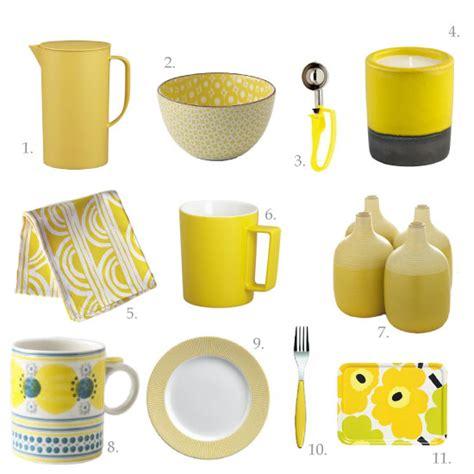 Jenn's Favourite Kitchen Things Mellow Yellow  Chocolate