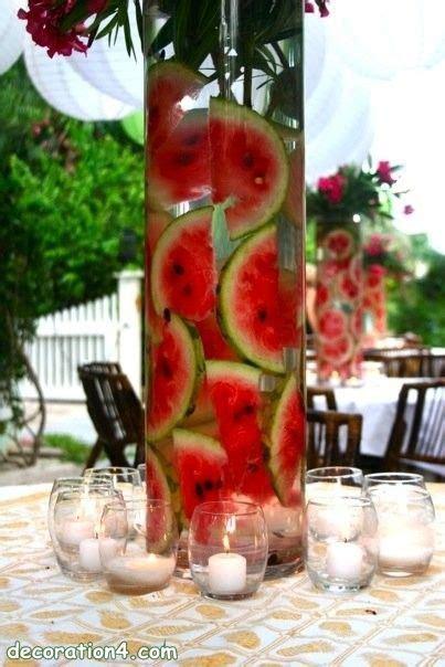 17 best ideas about watermelon centerpiece on