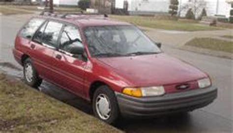 old car owners manuals 1997 mercury tracer engine control repair manual 97 ford escort lx station wagon