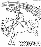 Rodeo Coloring Pages sketch template