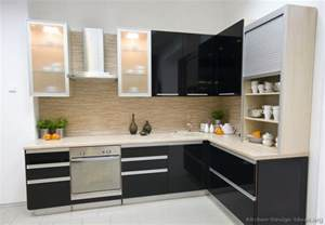 modern kitchen furniture pictures of kitchens modern black kitchen cabinets kitchen 3