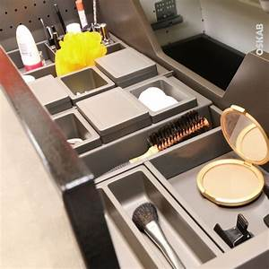 Organisateur Tiroir Salle De Bain : organisateur de tiroir kit de rangement n 14 l100 x p50 cm hakeo oskab ~ Teatrodelosmanantiales.com Idées de Décoration