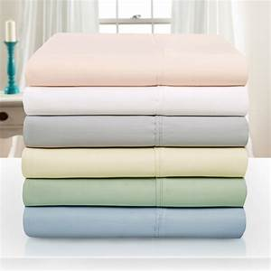 1000-Thread-Count Tencel Polyester Ultra Soft Bed Sheet ...