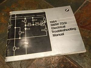 1984 Bmw E23 733i Electrical Troubleshooting Wiring