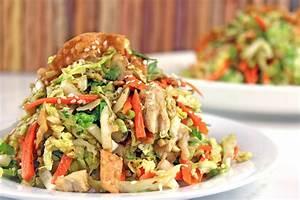 Asian chicken salad calories