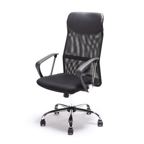 high back pu leather executive ergonomic office chair desk