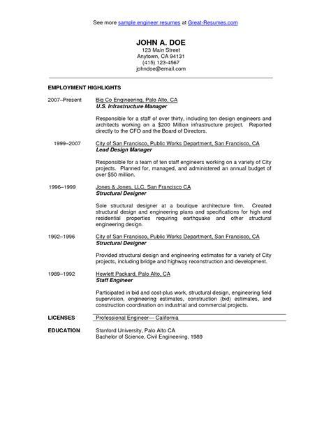 13150 civil engineering student resume format civil engineer resume sle http civil engineer resume sle