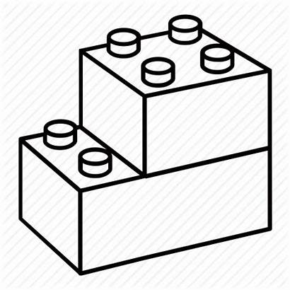 Lego Blocks Block Clipart Toy Drawing Icon