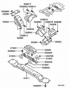 Engine Mounting  U0026 Support For 1999 Mitsubishi Pajero